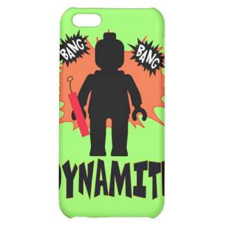 Dynamite Minifig by Customise My Minifig iPhone 5C Cases