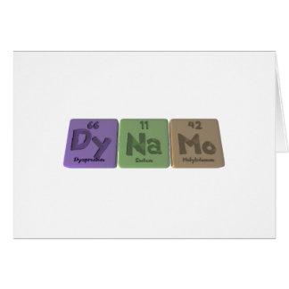Dynamo-Dy-Na-Mo-Dysprosium-Sodium-Molybdenum.png Greeting Card