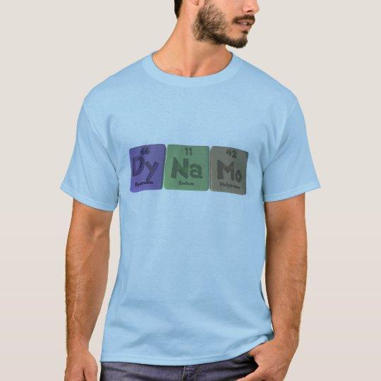 Dynamo-Dy-Na-Mo-Dysprosium-Sodium-Molybdenum.png T-Shirt