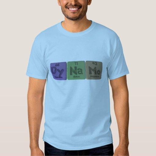 Dynamo-Dy-Na-Mo-Dysprosium-Sodium-Molybdenum.png Tee Shirt
