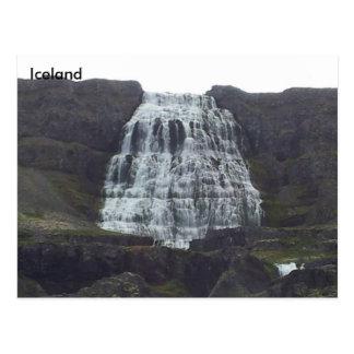 Dynjandi Fjallfoss, Westfjords, Iceland Postcard