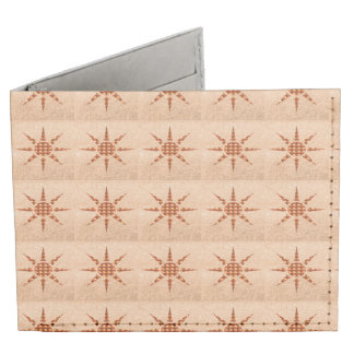 Dynomighty Wallet Artistic GOLD STAR Pattern