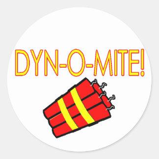 Dynomite Classic Round Sticker