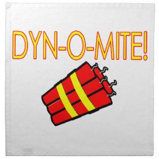 Dynomite Dynamite Cloth Napkin