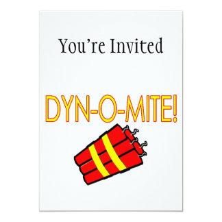 Dynomite Dynamite 13 Cm X 18 Cm Invitation Card
