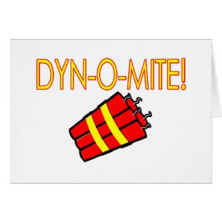 Dynomite Greeting Card