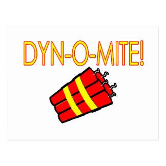 Dynomite Postcard