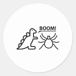 Dynomite Round Sticker