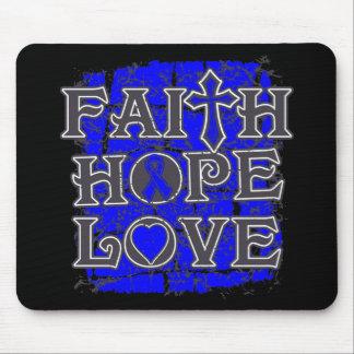 Dysautonomia Faith Hope Love Mousepad