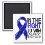 Dysautonomia - Fight To Win Square Magnet