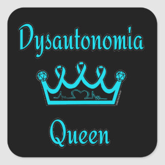 Dysautonomia Queen Square Sticker