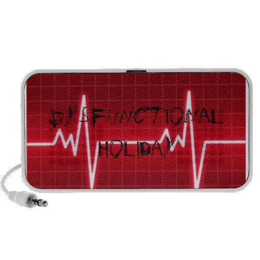 Dysfunctional Holiday EKG Speakers