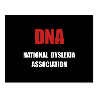 Dyslexia Association Postcard