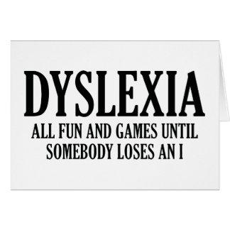 Dyslexia Cards