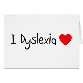 Dyslexia Humor Greeting Card