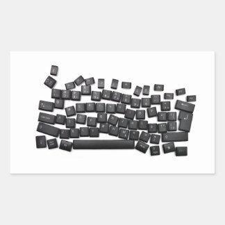 dyslexia keyboard computer letter button read writ rectangular sticker