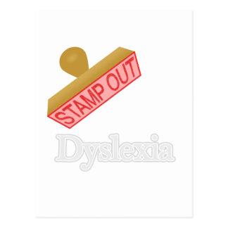 Dyslexia Postcard