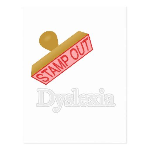 Dyslexia Post Cards
