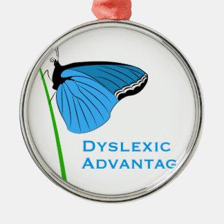 Dyslexic Advantage Christmas Ornament