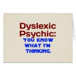Dyslexic Psychic