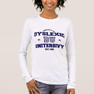 Dyslexic University Long Sleeve T-Shirt