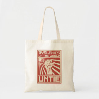 Dyslexics of the World UNTIE Budget Tote Bag
