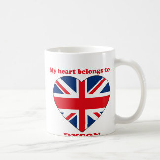Dyson Classic White Coffee Mug