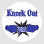 Dystonia Round Stickers