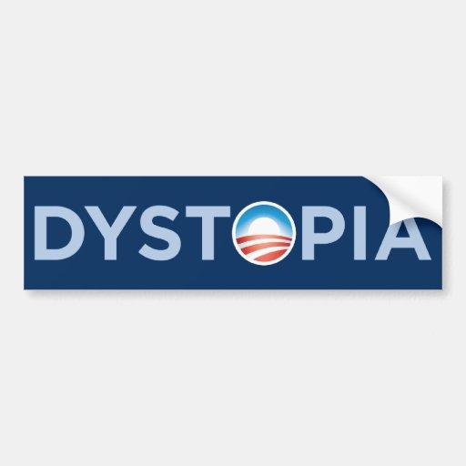 Dystopia Bumper Sticker