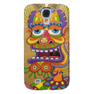 DyTrippy clown i phone 3 case Galaxy S4 Case