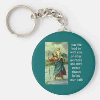 e-6 st christopher keychain