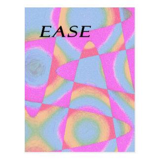 E.A.S.E abstract Postcard