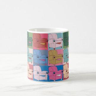 E.A.S.E chair goes Warhol - full wrap Coffee Mug