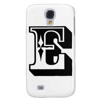 """""""E"""" Alphabet Letter Tee Galaxy S4 Case"""