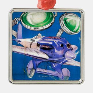 E.B. Meyrowitz Flying Goggles Advertisement Christmas Ornament