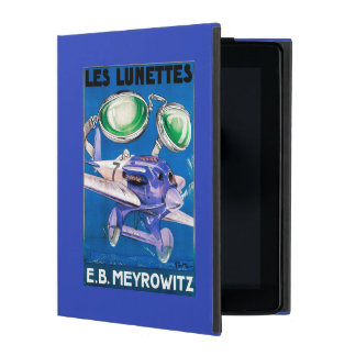 E.B. Meyrowitz Flying Goggles Advertisement iPad Case