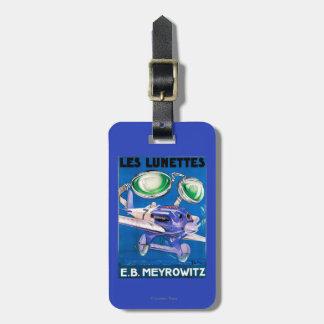E.B. Meyrowitz Flying Goggles Advertisement Luggage Tag