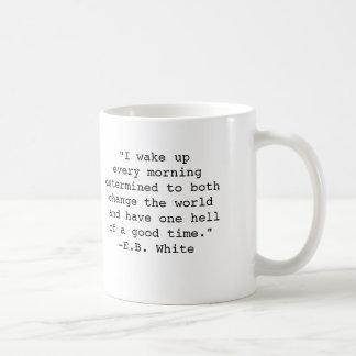 E.B. White Quote Mug