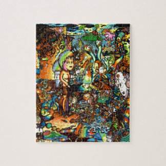 E Bent Psychedelic Art Jigsaw Puzzle