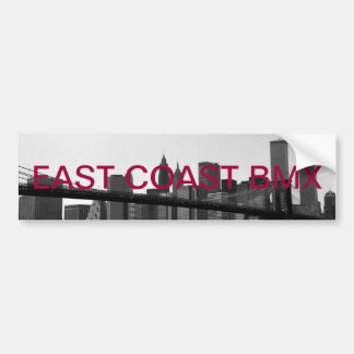 E.c.b sticker Brooklyn bridge