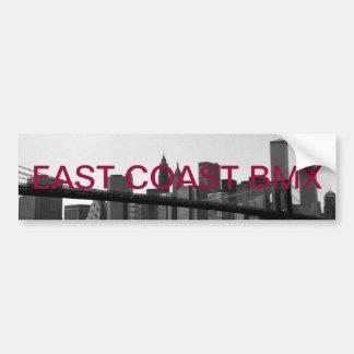 E.c.b sticker Brooklyn bridge Car Bumper Sticker