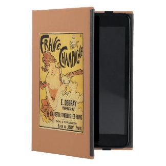 E. Debray Champagne Advertisement Poster iPad Mini Cover