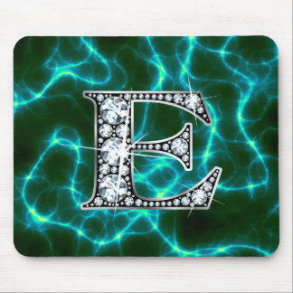 "E ""Diamond Bling"" Lightning Mousepad"