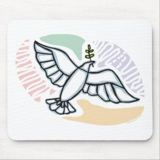 E - Dove of Peace Mousepad