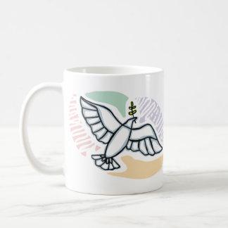 E - Dove of Peace Mugs