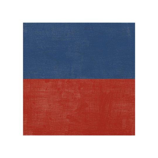 E Echo Nautical Alphabet Signal Flag Wood Print