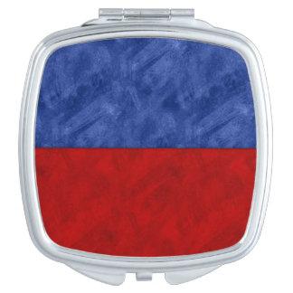 E Echo Watercolor Nautical Signal Maritime Flag Mirror For Makeup