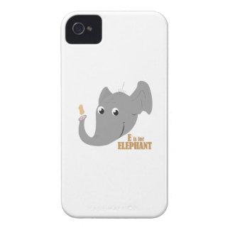 E For Elephant iPhone 4 Case-Mate Case