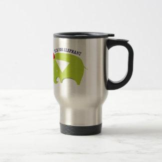 E For Elephant Mug