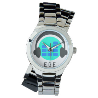 E G E-Custom woman clock with winding bracelet in Wristwatches